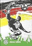 Baier & Schneider Agenda de poche Agenda scolaire Football, 2pages = 1semaine, 148x 210mm, watti...