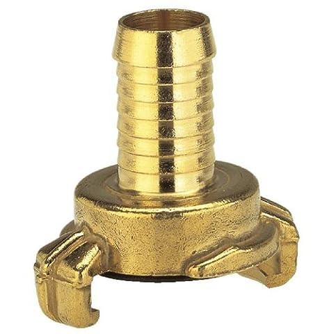 Gardena 7103-20 Messing-Schnellkupplungs-Schlauchstück, für 25 mm (1