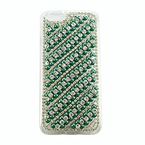 Siratech fancy designer handmade bling beeds and pearls luxury Back Case cover for Apple Iphone 6+,6s+