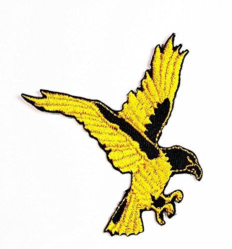 Eagle Hawk Bird Cartoon bestickt Nähen Eisen auf Patch Cartoon Nähen Eisen auf bestickte Applikation Craft handgefertigt Baby Kid Girl Frauen Tücher DIY Kostüm Zubehör
