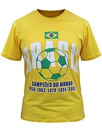Brazil Camisetas Brasil Jersey de los Hombres
