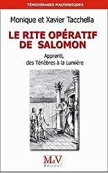 Le rite opératif de Salomon : Apprenti, des Ténèbres à la Lumière