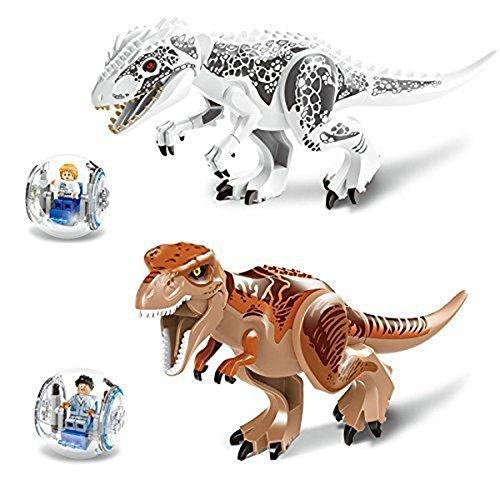 PIXNOR Jurassic Dinosaur blocchi in miniatura Action figure