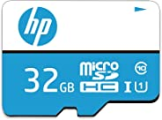 HP 32GB Class 10 MicroSD Memory Card (U1 TF Card 32GB)