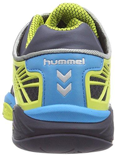 hummel HUMMEL OMNICOURT Z8 FLEXSHIELD Unisex-Erwachsene Hallenschuhe Gelb (Graphite 2786)