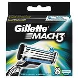 Gillette Mach3 Rasierklingen für Männer, 1er Pack (1 x 8 Stück)