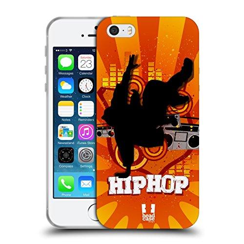 Head Case Designs Jazz Voilà La Danse Étui Coque en Gel molle pour Apple iPhone 4 / 4S Hip-Hop