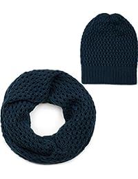 c53a9b77fc30 styleBREAKER Ensemble constitué d un bonnet et d une écharpe loop