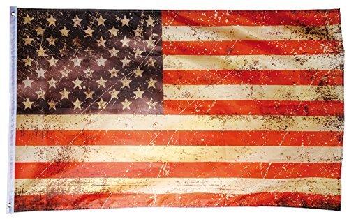 Diseño Retro de bandera de Estados Unidos estrellas y rayas bandera 90x 150cm