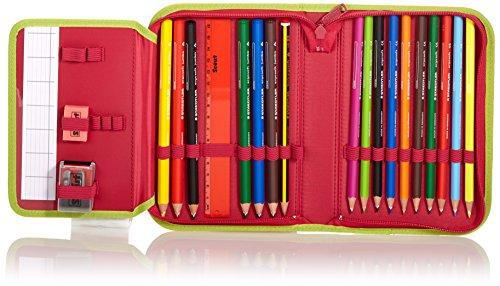 Scout Schulranzen-Set Basic Nano Set 1 5 tlg Pink Heart 36 cm Pink 71500778700 - 3