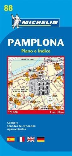 Plan Michelin Pamplona par  Cartographia