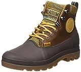 Palladium Unisex-Erwachsene Sporcuf Wp2.0 U Hohe Sneaker, Gelb (Amber Gold/Chocolate), 40 EU