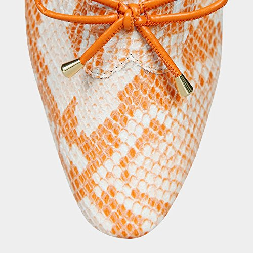 Morena Morena  Ravita Loafer, Mocassins femme Orange