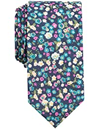 Original Penguin Men's Bimini Floral Tie, Navy, One Size