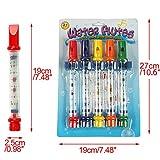 Cadillaps 5 Farbe Badenwann Spielzeug Badespielzeug Wasser Flötenspiel Für Kinder Urlaub Geschenk Ab 3 Jahre -