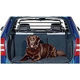 Pequeño metal Road Master Deluxe Jeep Compass + Renegade Perros rejilla/rejilla separador con sistema de cierre rápido