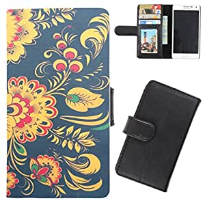 DooDa - For Micromax Unite 2 A106 PU Leather Designer Fashionable Fancy Flip Case Cover Pouch With Card, ID & Cash Slots And Smooth Inner Velvet With Strong Magnetic Lock