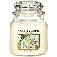 Yankee Candle Glaskerze, mittel, Christmas Cookie preisvergleich bei billige-tabletten.eu