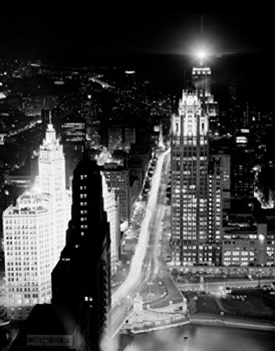 usa-illinois-chicago-night-view-from-prudential-building-artistica-di-stampa-6096-x-9144-cm