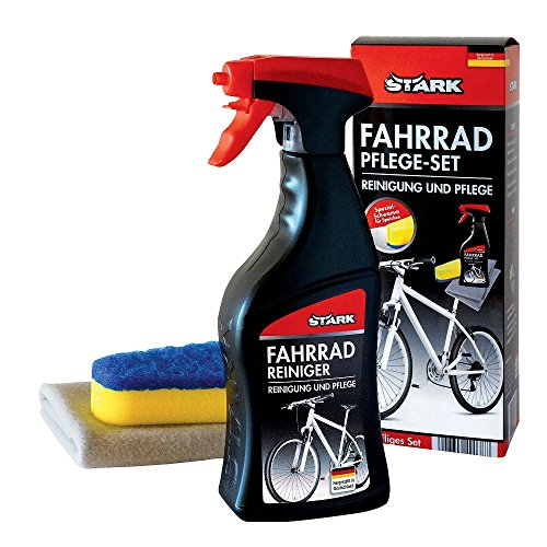 Bicicleta cuidado-Set de limpieza esponja especial cuidado 3 teilig