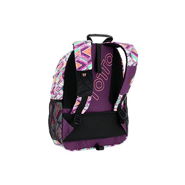 TOTTO Mochila Escolar Adaptable a Carro – Acuareles