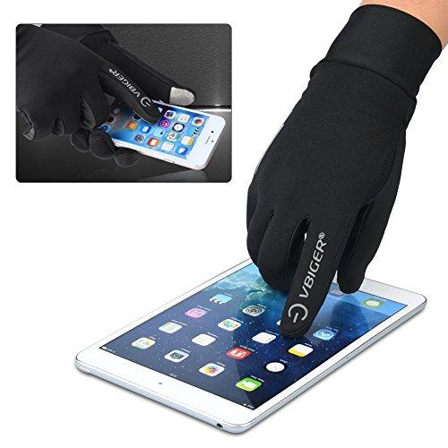 Vbiger TouchscreenHandschuhe Sport Handschuhe Trainingshandschuhe Rutschfest Handschuhe Vollfingerhandschuhe Trainingshandschuhe - 4