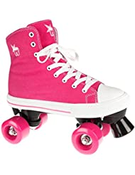 Rookie - Roller Patin Complet Quad Canvas High Pink - Taille:one Size