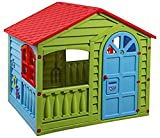 Childrens Garden Happy House Outdoor/Indoor Garden Summer Fun Kid's Playhouse