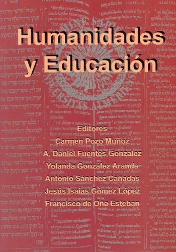 Humanidades y educación. Homenaje a los profesores Covadonga Grijalba Castaños y Francisco Alarcón (Fuera de colección)
