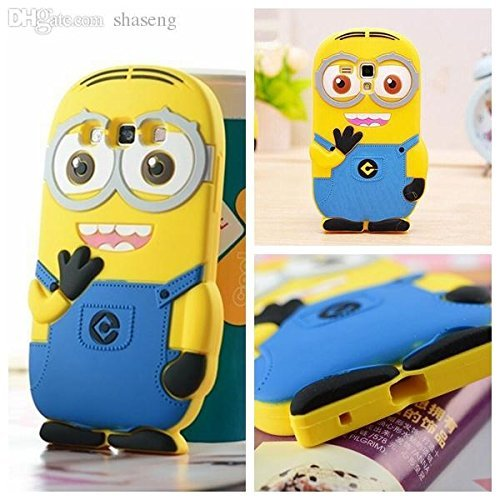 TrendzOn with Minion for Samsung Galaxy Grand Duos/Grand Neo / 9082 - TrendzOn 3D Cute Face Minion Cartoon Character Soft Rubber Silicon Back Cover Case For Samsung Galaxy Grand Duos/Grand Neo / 9082 - Yellow  available at amazon for Rs.499