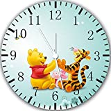 New Winnie the Pooh Wanduhr 25,4 cm Will Be Nice Gift und Raum Wand Decor Y06