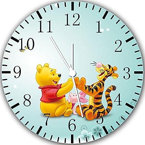 New Winnie the Pooh Wanduhr 25,4cm Will Be Nice Gift und Raum Wand Decor Y06