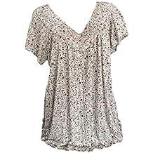 Luckycat Mujeres Manga Corta T Shirt O Cuello Impresos Floja Camisetas Tops Tallas Grandes Plus Size