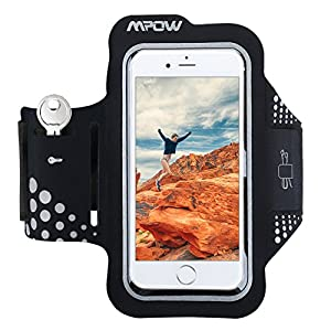 Mpow Sport Armtasche mit Kopfhörer und Schlüsselhalter