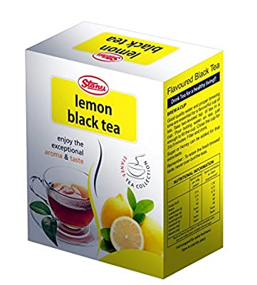 Stanes Flavored Tea, Thé noir au citron, 100 g, Fairtrade.Stanes Flavored Tea,Lemon Black Tea,100 gm,Fairtrade