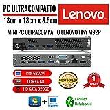 PC LENOVO M92p Tiny Intel PENTIUM G2020T / 4 Go de RAM / 320 Go/Windows 10...