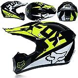 KTM Casco De Motocross, Motocicleta Four Seasons Cascos para Hombres Y Mujeres Pueden Ser Lavados Y Enviados Guantes/Oculares/Máscaras,A,L