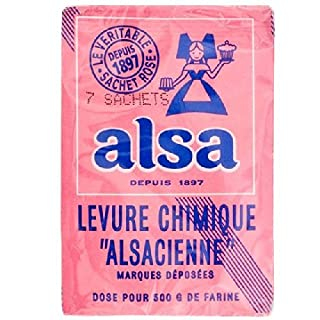 Alsa Baking Powder 7 x 11g