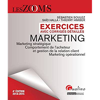 Zoom's - Exercices de Marketing, 4ème Ed