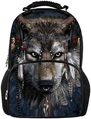 Nouvelle génération, nouveau choix CHAQLIN Cartable Gris Gris Gris wolf-2 grand B0743BBY1S | En Gros  cb9a1c