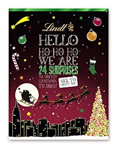 lindt spr ngli hello adventskalender 1er pack 1 x 230 g lebensmittel getr nke. Black Bedroom Furniture Sets. Home Design Ideas