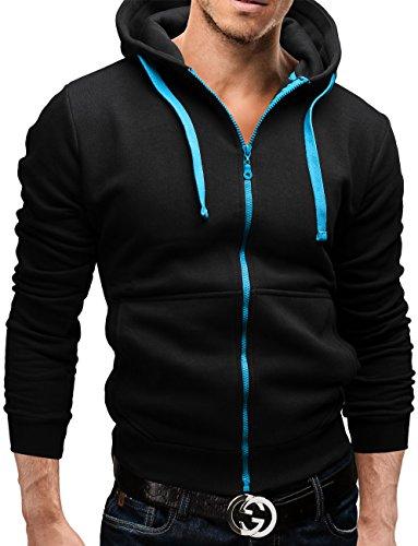 MERISH Sweatjacke Jacke Kapuzenpullover Pullover 5 Farben 12