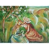 Raybre Art® Cuadros Abstractos Pintada a Mano Lluvia Calle Enorme Hogar Pared Decoración Modernos