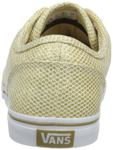Vans ATWOOD LOW Girls Active glitter mesh gold glitter mesh gold