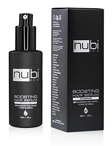 Nubi hair siero per capelli con olio di marula , vitamina ee aloe vera 60 ml / 2 once