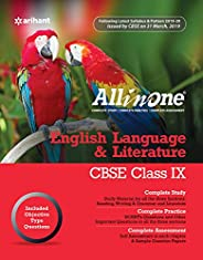 All In One English Language & Literature CBSE class 9 2019-20 (Old Edit