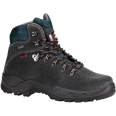 Botas bota Chiruca Xacobeo 05 color gris y azul piel - GORETEX
