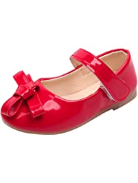 Zapatos para Niñas Otoño Invierno 2018 Moda PAOLIAN Calzado de Bailarinas Danza Suela Blanda Antideslizante Zapatos