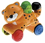 #7: Fisher-Price Press turtle and Go Cheetah