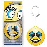 Deodorante per auto con emoji, smiley, deodorante pendente per vetture, potente, durevole ed efficace